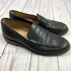 J. Crew Crewcuts Black Leather Penny Loafers 3